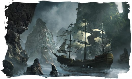 Condemned  Flying Dutchman ghost ship ~