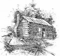Daily Frontier Life in America in 1800 - When Visitors Came to Call