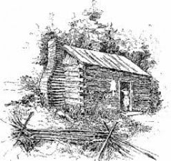 Daily Frontier Life in America in 1800-When Visitors Came to Call
