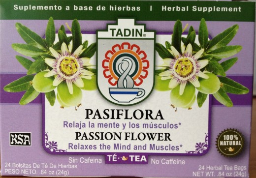 Passion flower tea is great for relaxing the muscles and the mind.
