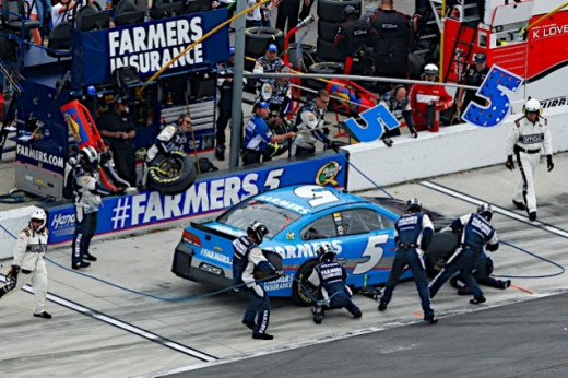 Kasey Kahne will be a part of NASCAR's playoffs while Keselowski needs a miracle