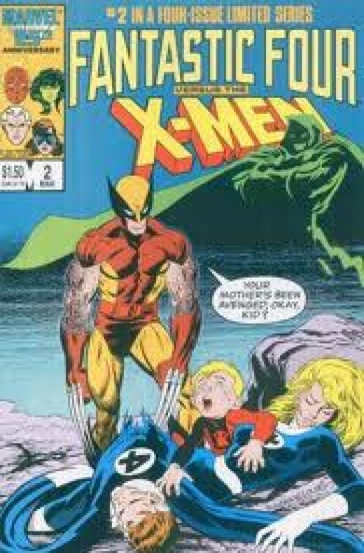 Fantastic Four vs. The X-Men 4 issue limited comic series