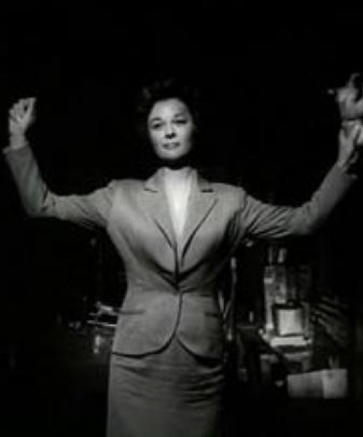 "Shot of Susan Hayward from the movie ""I Want to Live""."