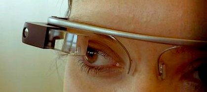 The stylist Google Glass makes a statement about today and tomorrow.