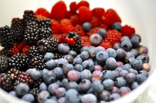 Berries are packed with anthocyanin, a phytochemical that may help reverse age-related memory loss.