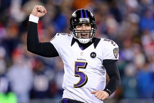 Despite the poor start to the season, Joe Flacco will prove he's worth his new contract coming off his amazing postseason performance.
