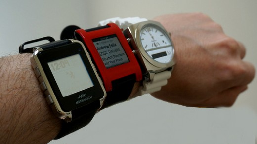 Smartwatches will be growing this year.