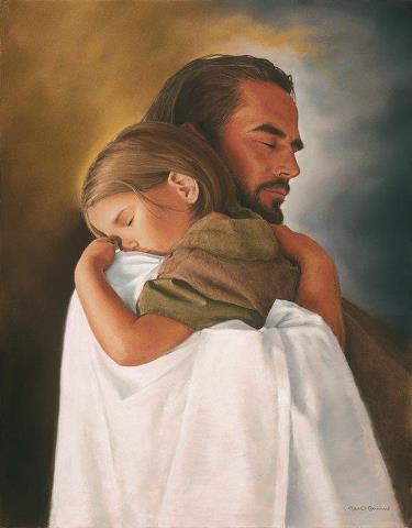 He carries us when we cannot stand.