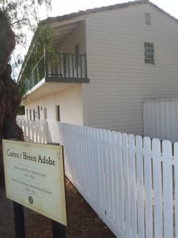 Castro House. San Juan Bautista State Historic Park.