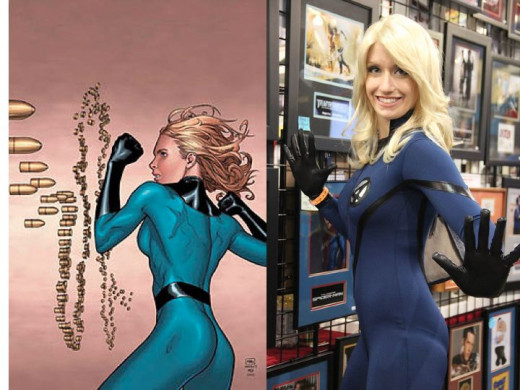 Invisible Woman Costume