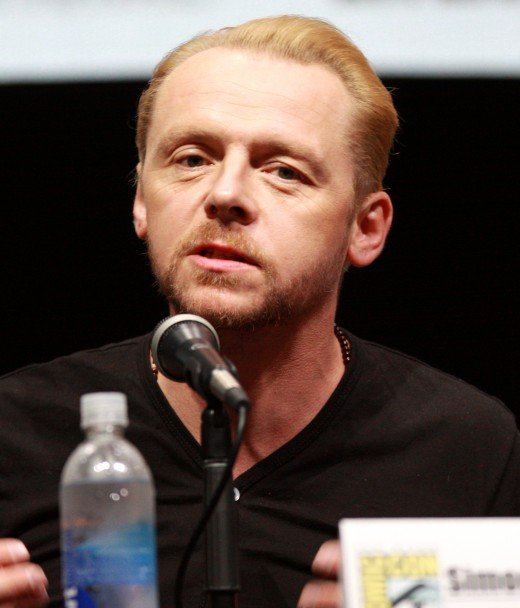 Star/Writer Simon Pegg