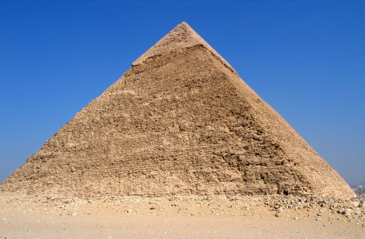 The largest of the pyramids of Giza is the Khufu Pyramid