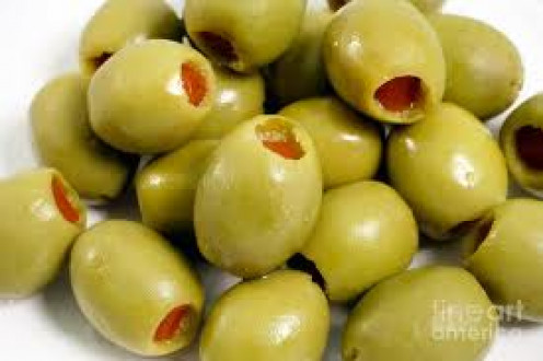 Green Olives are delicious because their flavor adds a perfect twist to an Italian Bruschetta.