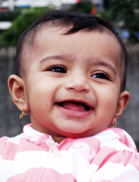 A Photograph of Smiling Baby