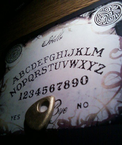 Ouija Board is often used for communication with spirits.