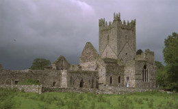 Jerpoint Abbey in Ireland where Santa Claus/St. Nicholas is said to be buried.