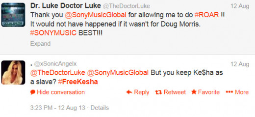 Dr. Luke tweets were typically met with lots of demands to free Kesha