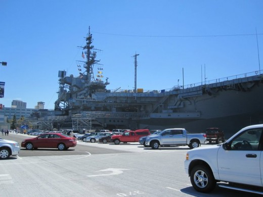 USS Midway which was one of the six carriers involved in the fighting during the Easter Offensive.