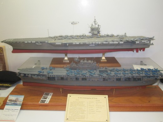 USS Enterprise (CVN-65) was one of the main participants on the naval side during the Vietnam War.