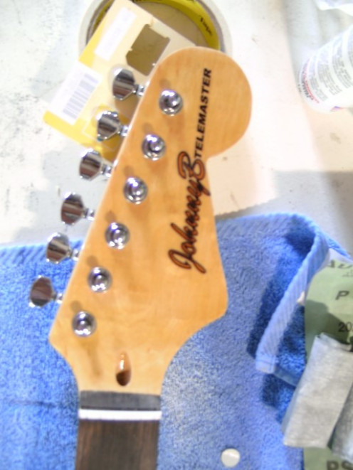 Shaping The Headstock