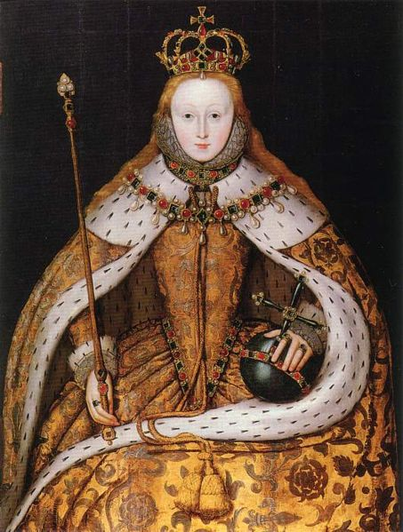The coronation of Elizabeth I: The Virgin Queen