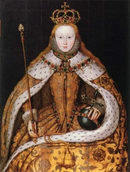 The coronation of Elizabeth I: The Virgin Queen