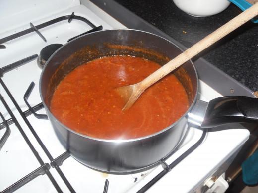 Mmmm, hot sauce!