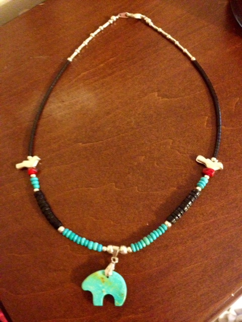 From an Indian Reservation in New Mexico.  He was so excited to give it to me!  Love it!