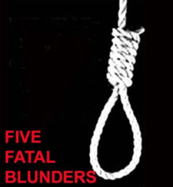 True Crime: Five Blunders That Led to the Gallows
