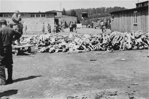 Mauthausen concentration camp (Austria), May 1945