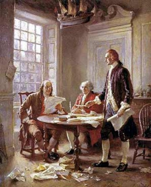 We hold these truths to be self-evident, that all men are created equal, that they are endowed by their Creator with certain unalienable Rights, that among these are Life, Liberty and the pursuit of Happiness.