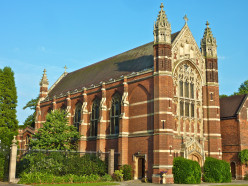 Selwyn College Chapel, Cambridge, England