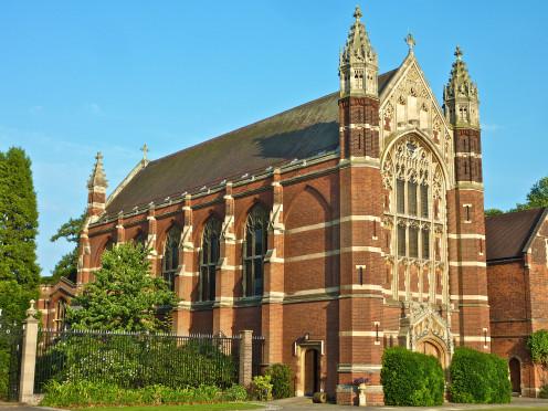 Selwyn College Chapel, Cambridge, England