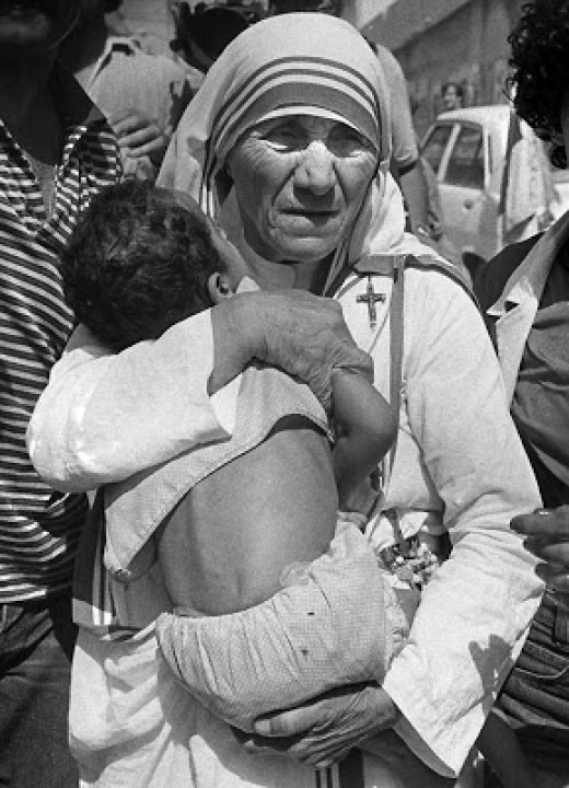 """Each one of them is Jesus in disguise."" ~ Mother Teresa"