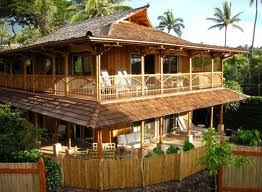 House made of coconut