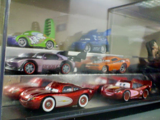 Delinquent road hazzards of Disney CARS