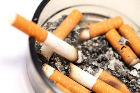 Familiar sight to a smoker