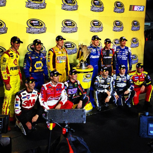 NASCAR's 2013 Chase field will not include Jeff Gordon, Ryan Newman or Brad Keselowski