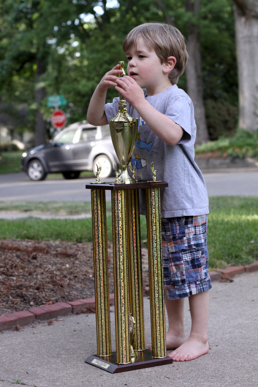 Just because your Facebook friend brag about his kid winning a trophy at school, it doesn't mean he's kid is perfect.