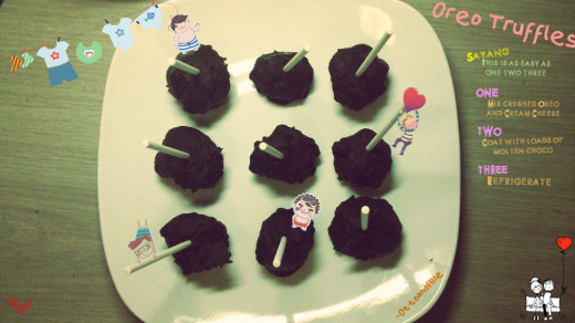 Homemade Oreo Truffles