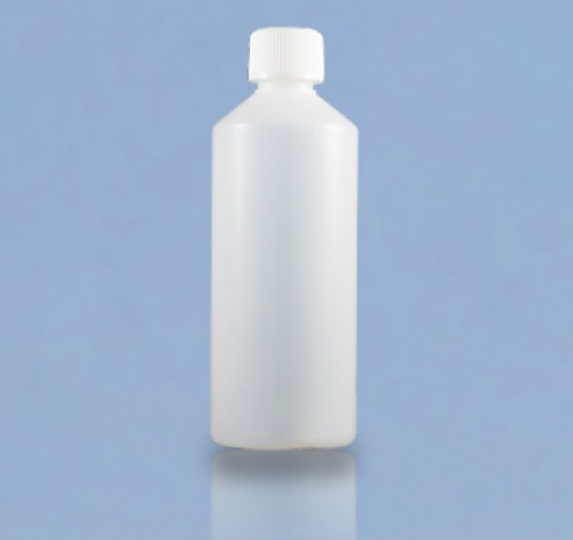 500ml HDPE bottles are ideal for storing thinner and acetone.