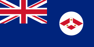 Flag of the British Straits Settlements