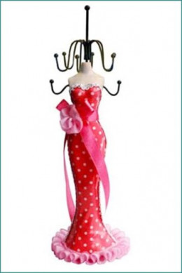 This is just one of the many Mannequin Jewelry stands available from Amazon. Use the Mannequin Stand link (above left) to visit the page and browse the range)