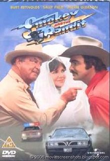 "The cover of a DVD of ""Smokey and the Bandit"""