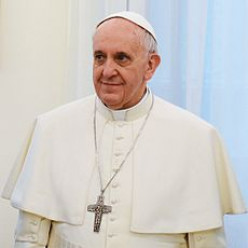 Pope Francis prays for Syria