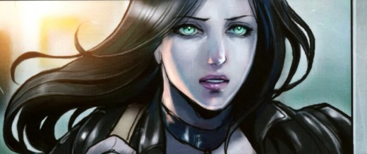 A mug shot of X-23 by Sana Takeda, who gave X her most expressive face I  have ever seen.
