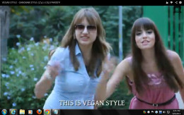 I do not know these 2 women but they are vegan and made the video below-- Vegan Style, Gangnum Style and they look great.