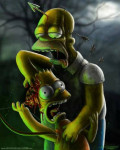 The Simpsons Zombies
