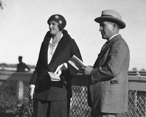 Sir Harry and Lady Eunice Oaks
