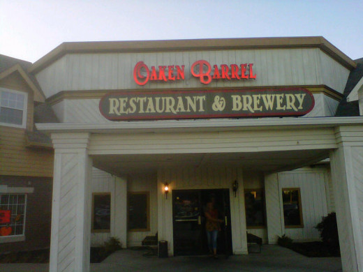 If you dine at the Oaken Barrel in Greenwood, be sure to get a rewards card.